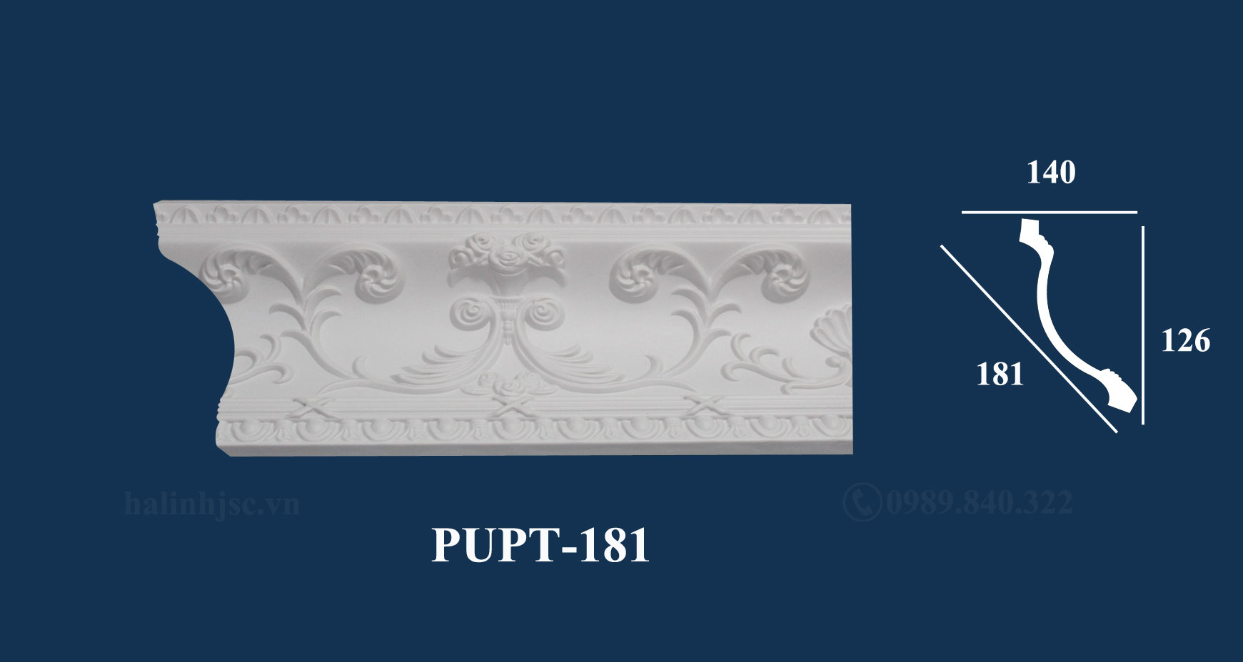 phào trần PUPT-181