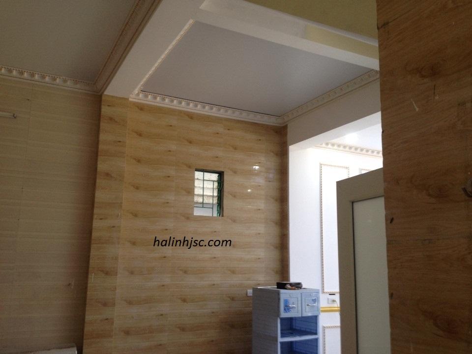 Ốp trần giả gỗ