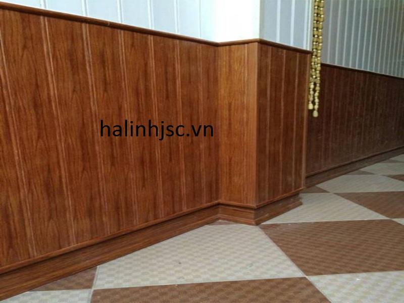 Ốp tường giả gỗ